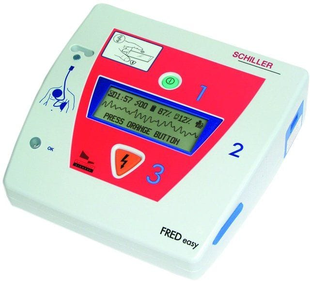 Défibrillateur débrayable 2 modes DSA et auto
