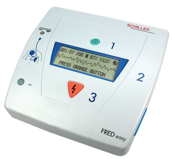 défibrillateur cardiaque semi automatique