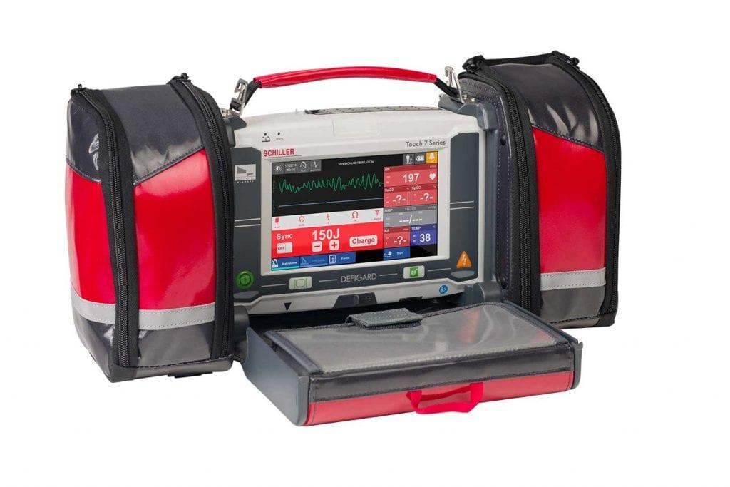 Moniteur défibrillateur de transport pour secouriste