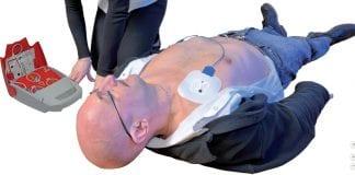 Formation à l'utilisation d'un défibrillateur