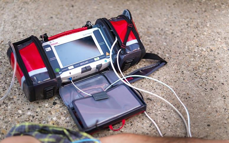 Moniteur-défibrillateur d'urgence DEFIGARD Touch 7