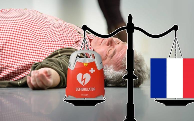 Proposition de loi relative au défibrillateur cardiaque