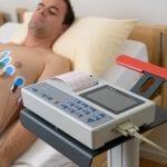 Electrocardiogramme réalisé en cabinet médical