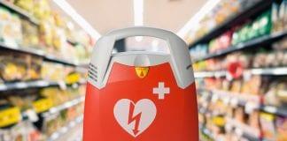 DAE défibrillateur supermarché hypermarché grande distribution
