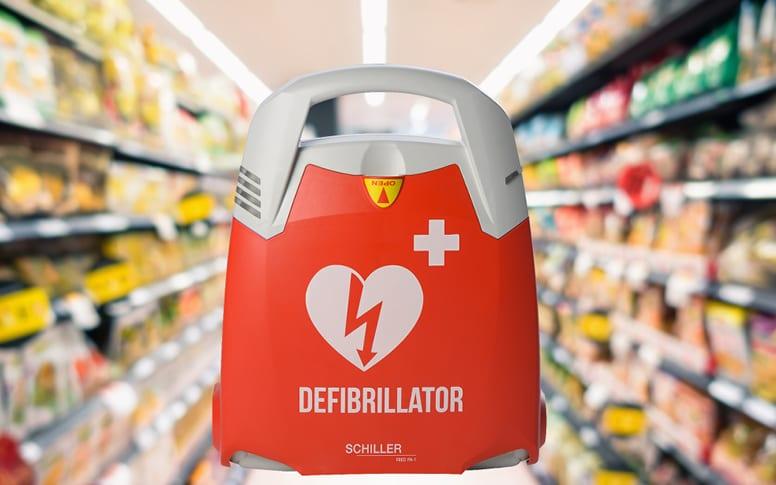 Équiper les grandes surfaces en défibrillateur cardiaque