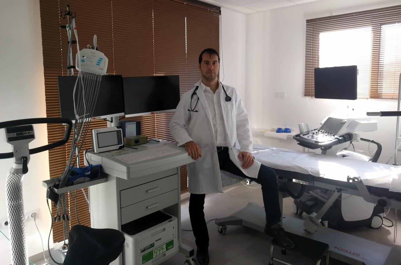 ECG de repos, épreuve d'effort VO2, échographie, Holter